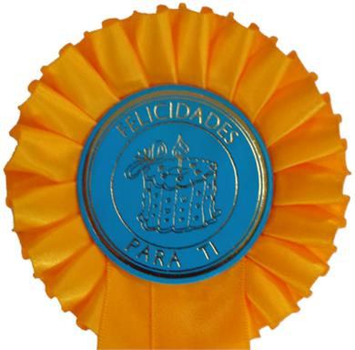 Birthday 1 Tier Rosettes