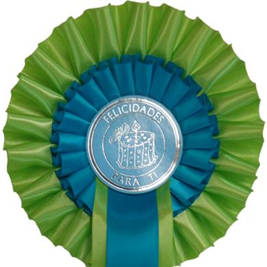 Elegant Birthday 2 Tier Rosettes
