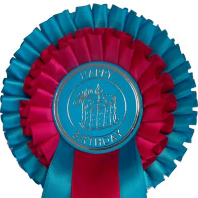 Birthday 2 Tier Rosettes