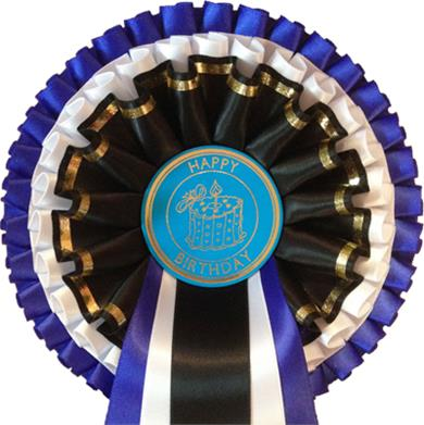 Smart Birthday 3 Tier Rosettes