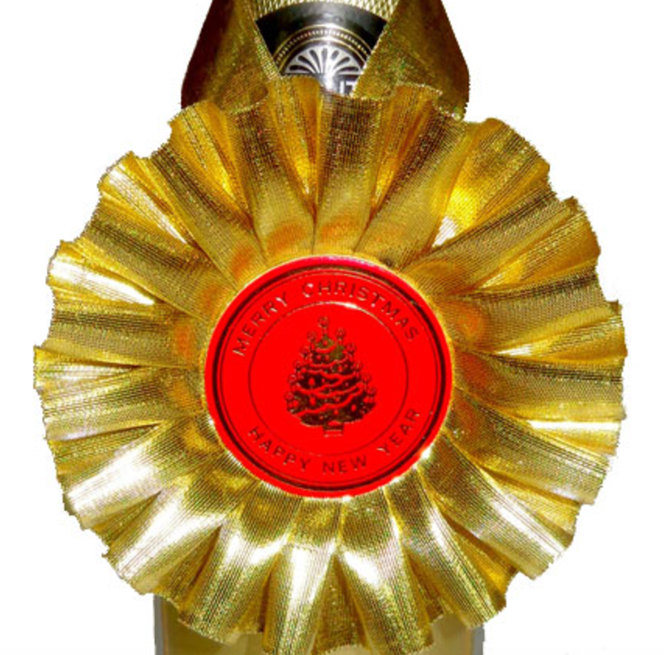 Seasonal Bottle Rosettes